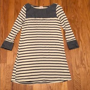 Dresses & Skirts - NBW 3/4 sleeve striped tunic dress
